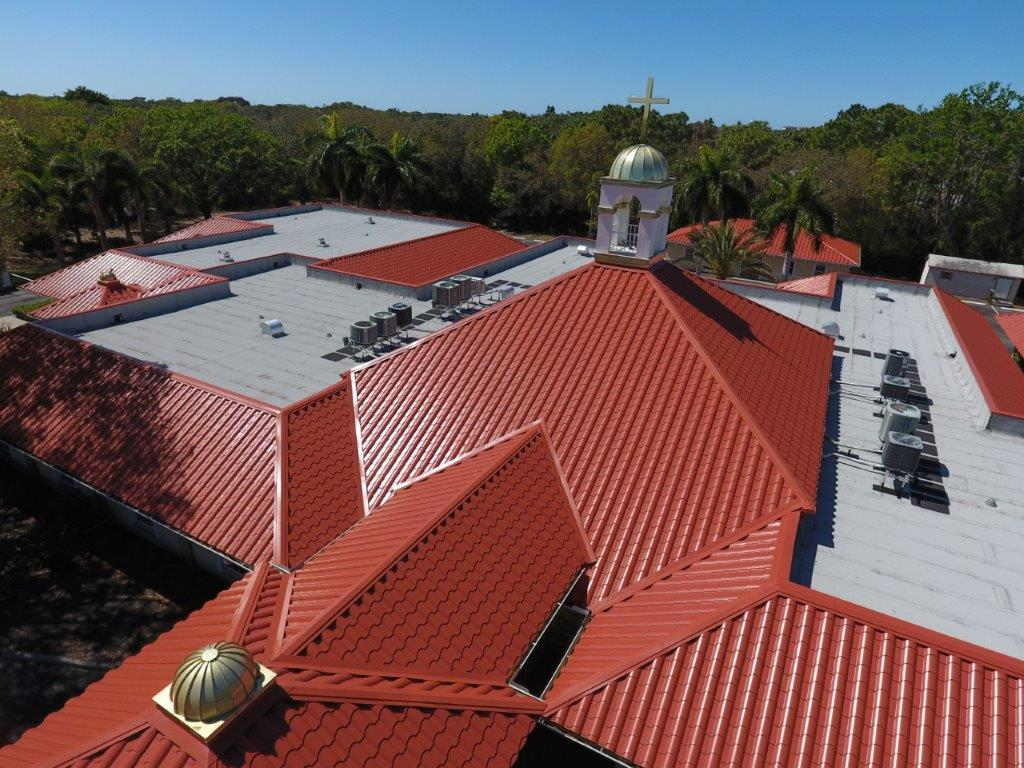 Finished Roof Project at the Catholic Diocese of Venice